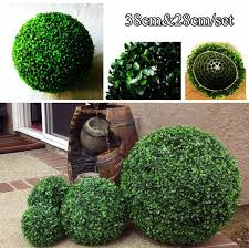 Decorative Boxwood Balls One Set 100cm100cm Artificial Grass Boxwood Ball Kissing Ball For 31