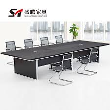 long office desks. Sheng Teng Office Furniture Minimalist Modern Conference Table Long Desks D