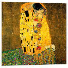 Il Bacio Gustav Klimt -100x100 cm
