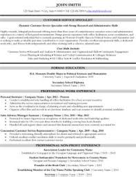 Customer Service Specialist Resume Template | Premium Resume Samples &  Example