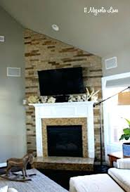 Mountain Stack Stone Fireplace Pictures  North Star StoneStacked Stone Veneer Fireplace