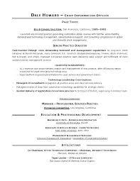 Resume Sample For Cna
