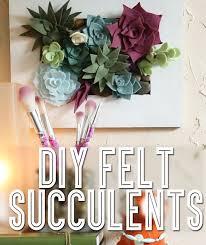 diy crafts for your house. diy | make felt succulents for your home diy crafts house