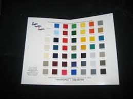 Stewart Systems Color Chart Paint Chips