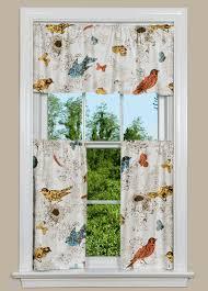 Bird Kitchen Curtains