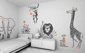 kids room wall decoration funny wall