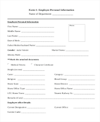 Payroll Register Form In Employment Bank Details Employee Nz Sample ...