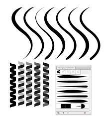 50 Illustrator Brushes For Download