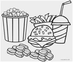 56 Good Figure Of Unhealthy Food Coloring Pages Coloring Pages