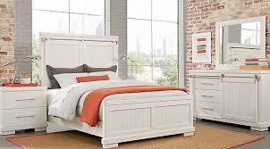 White Queen Bedroom Sets for Sale: 5 & 6-Piece Suites