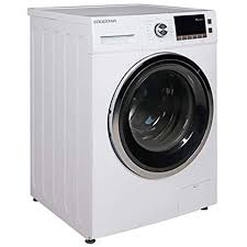 black washer and dryer. Ft. All-in-One Ventless Washer And Dryer Combo Black