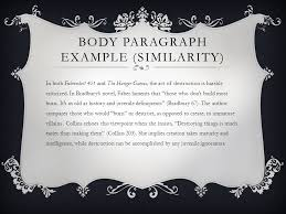 compare and contrast essay ppt video online  9 body