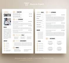 Modern Column Resume Resume Template Thumb V2 1180x716 Resumelate Word Doc Docx