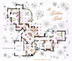 TV Shows Floor Plans That Take More Than 30 Hours To Create Psycho House Floor Plans