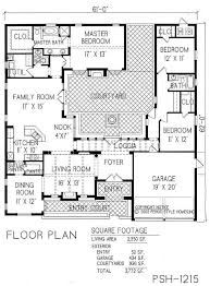 3 Bedroom Open Floor House Plans Awesome Inspiration Design