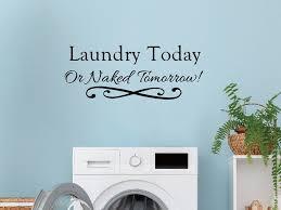 room wall decor laundry room