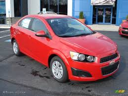 Victory Red 2012 Chevrolet Sonic LT Sedan Exterior Photo #56485257 ...