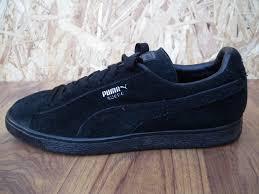 puma shoes suede black. mens puma suede lo-top trainers black shoes sneakers size uk 10 eu44.5 men\u0027s blac,puma high tops,uk factory outlet