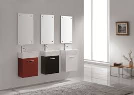 Affordable modern small bathroom vanities ideas Double Bathroom Sink Vanities For Small Bathrooms On With Regard To Vanity Sinks Cabinet Designs 15 Swayzees Home Decor Affordable Diy Ideas Half Baths And Bath Throughout Small