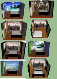 Captivating Small Bedroom Layout. 11x12. 1 Window, 1 Entrance Door, 1 Closet Door.