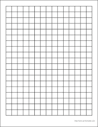 Grid Paper Template Itsara Co