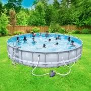 swimming pool. Coleman Power Steel 26\u0027 X 52\ Swimming Pool I