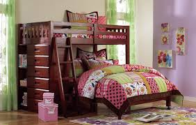 Kaitlyn L-Shaped Twin over Full Bunk Bed ...