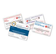 Course Card Information American Heart Association Cpr