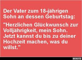 18 Geburtstag Spruch Lustig