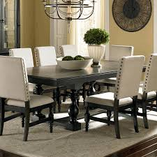 zinc dining room table. Dining Room, Ivory Painted Table Fake Flowers In Vase Zinc Top Round Small Extendable Large Room
