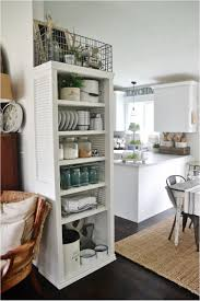 Kitchen Bookshelf 27 Tips To Organize And Enlarge Your Small Kitchen Ritely