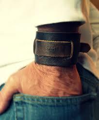 tags groomsmen gift johnny depp bracelet leather mens