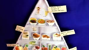 Food Pyramid Project Food Pyramid Science Project Model For Kids Diy School