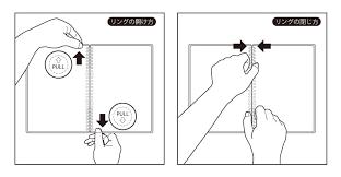 スイングロジカルリングノート 差し替えタイプ スヌーピー新発売