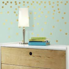 roommates gold confetti dots l and