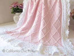 Free Knitting Patterns For Baby Blankets Custom Decoration