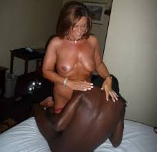 Amateur white wife fucks black