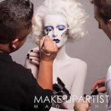magazine make up artist behind the scenes of uping editorial for makeupartist magazine mua roshar winwaynegossthecollection