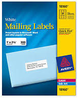 Avery Label 8160 Avery Labels 8160 Self Adhesive Address Labels 30 Labels Per