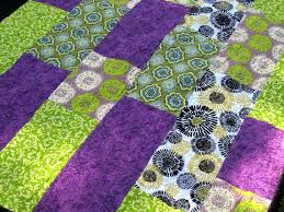 Lime Green And Black Quilting Fabric Neon Green Bedspread Lap ... & Lime Green And Black Quilting Fabric Neon Green Bedspread Lap Quilt Lime  Purple Green Spirals Quilted Adamdwight.com