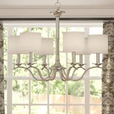 Sheffield 8 Light Chandelier Sheffield 6 Light Shaded Classic Traditional Chandelier