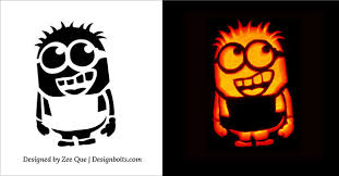 Pumpkin Carving Patterns Unique Best Pumpkin Carving Stencils Free Printable Minions Bat Scary Cat