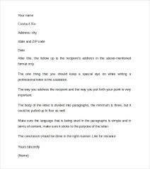 example of a professional cover letters sample professional cover letter example 9 free documents in pdf