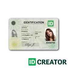 Identity Card Design City Id Cards No Minimum Quantities For Orders Idcreator Com