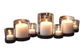 Brayden Studio Selby 7 Piece Bubbles Iron and Glass Candle Holder ...  default_name