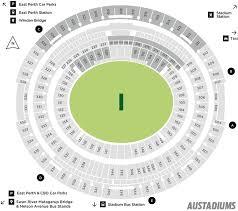 Optus Stadium Seating Map Austadiums