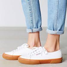 superga white leather sneakers men s 6 women s 7 5 m 5af151422ae12fbbb38c3cc1