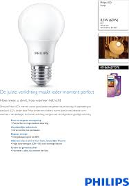 Philips 8718696577370 Lamp User Manual Brochure Pss Nldbe