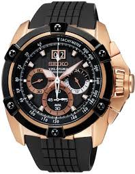 seiko velatura rose gold tone chronograph mens watch spc074 spc074