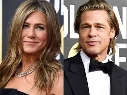 Jennifer Aniston smiled during Brad Pitt's 2020 Golden Globe ...
